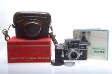 Leica M3 SS + Summaron 3,5 cm (35mm) 1:3,5 Brille + Leicameter MC