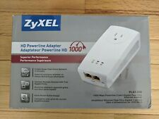 Zyxel Pass-Thru Ethernet Adapter AV1000 pair of adapters in excellent condition