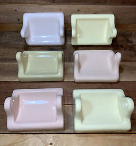 Choice New Old Vintage Stock Porcelain Ceramic Wall Mount Toilet Paper Holder