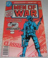 MEN OF WAR #1 (DC Comics 1977) CODE NAME: GRAVEDIGGER begins (FN+) ENEMY ACE