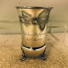 Quality Danish Solid Silver Beaker Cup  A N Dragsted Copenhagen 1875