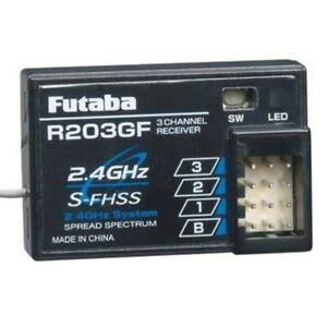 Futaba FUT01102237-3 R203GF 2.4GHz Receiver S-FHSS Rx 3Ch 3PRKA 3PV