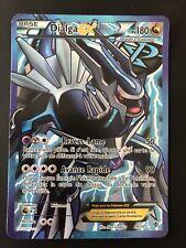 Carte Pokémon Dialga EX Full-Art 99/101 N&B Explosion Plasma TRÈS BON ÉTAT