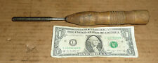 """Vintage W.Butcher Cast Steel,Gouge Chisel,10"""" x 1/4"""",Old Woodworking Tool,Sharp"""