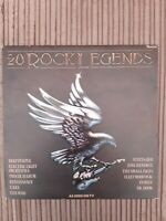 Various Artists 20 Rock Legends vinyl LP UK RTL2037 RONCO 1979 Great Vinyl