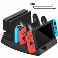Charging Dock Stand Station For Nintendo Switch Console /Joy-con/Pro Controller