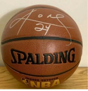 Kobe Bryant Signed Autographed Official NBA Basketball Lakers HOF Invest