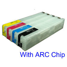 For HP 970 971 Pro X451dn/dw X576dw X476dn/dw Refillable Ink Cartridge V2 chips