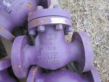 "3"" check Valve Steel  Unused inch AIS WCC Body class 900"