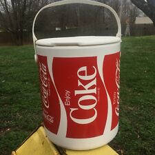 Enjoy Coca-Cola Coke Can Picnic Cooler w/ Handle Tray