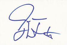 Josh Hartnett signed 4x6 index card