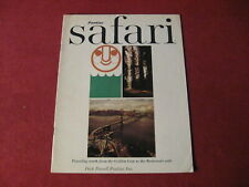 1964 Pontiac Safari Magazine Sales Brochure Catalog Old Booklet Book Original