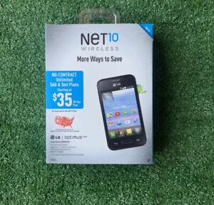 "Net 10 Wireless Prepaid LG Optimus Fuel Android 3.5"" Touchscreen Phone Brand New"