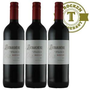 Rotwein Frankreich Vin de France Rouge  (3 x 0,75l)