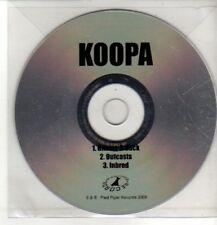 (CQ556) Koopa, Gimme It Back / Outcasts - 2008 DJ CD