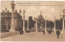 TORINO 1911 ESPOSIZIONE PADIGLIONE PARIGI E STRUMENTI MUSICALI