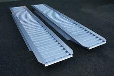 IFOR WILLIAMS Pair 6' / 1.8m Aluminium Loading Ramps / Skids