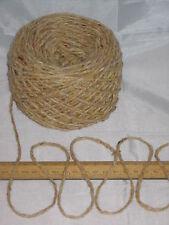 1200g 1.2kg Aran Sandy Cream Tweed 100% Pure Wool British Breed knitting EFW 602
