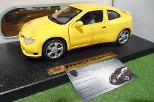 RENAULT MEGANE Coupé jaune au 1/18 1/20 ANSON 30376 miniature
