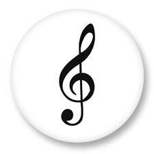 Magnet Aimant Frigo Ø38mm Symbole clé de sol Solfege Musique Notes Portee Gamme