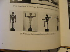 Vintage MARIONETTE Paper: DE TOEGEPASTE KUNSTEN IN NEDERLAND 1925 rotterdam