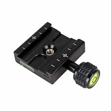 QR-50 Quick Release Clamp Plate For Arca SWISS Manfrotto Gitzo Transition Socket