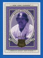 2009 SP Legendary Cuts #141 Reggie Jackson New York Yankees HOF 407/550 NM-MT