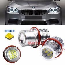Super Bright CREE 60W High Power LED Angel Eyes Bulbs For BMW E39 E60 E63 E53
