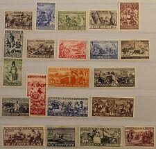 Russia Unione Sovietica 1933 429-49 489-09 popoli dell'URSS Peoples Soviet Union MLH