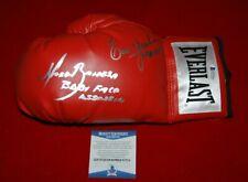 ERIK MORALES TERRIBLE MARCO BARRERA signed everlast laced boxing glove Beckett