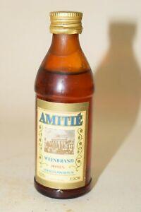 Amitie VEB Schilkin Weinbrand 0,05 l 38 % mini flasche bottle miniature Berlin