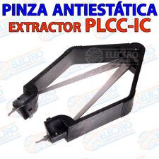 Pinza extraccion PLCC IC antiestatica circuito integrado