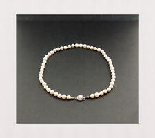Elegante Zuchtperlen / Kette / Collier mit 333er Gold Verschluss / 41 cm Lang