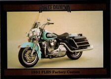 1992 Collect-A-Card Harley-Davidson Series 2 #177 1991 FLHS Factory Custom