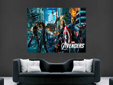THE AVENGERS ASSEMBLE POSTER MARVEL IRON MAN HULK THOR WALL LARGE IMAGE GIANT