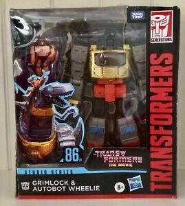 TRANSFORMERS Studio Series 86-06 Grimlock and Autobot Wheelie New
