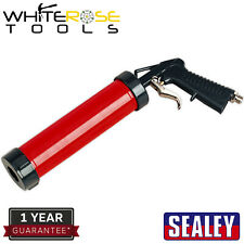 Sealey Caulking Gun 220mm Air Operated 310ml Cartidges Silicone Sealant