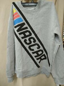 Nascar Sweatshirt Gray Size S new with tags