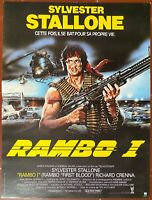 Plakat Rambo I First Blood Sylvester Stallone Ted Kotcheff 40x60cm