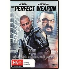 THE PERFECT WEAPON-DVD-Steven Seagal, Johnny Messner-Region 4-New AND Sealed