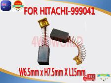 Carbon Brushes For Hitachi 999041 Drill LSaw D-6C D-6V LUH-7 DG-8 D-10C OZ