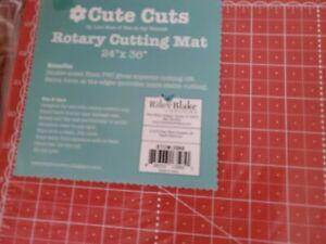 "CUTE CUTS ROTARY CUTTING MAT BY LORI HOLT 24"" by 36"""