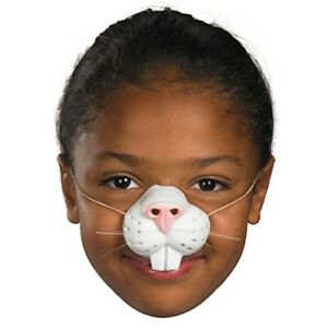 Bunny Rabbit Nose Whiskers - Elastic Band - Easter - Child Teen Adult