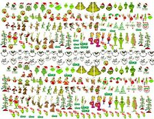 274 Water Slide Nail Decals The GRINCH Nail Art Decorations