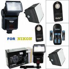 SPEEDLIGHT FLASH + PRO DIFFUSER  REMOTE FOR NIKON D7100 D7000 D5100 D3200 D3100
