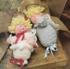 ADORABLE Cherub Enchantment Ornaments/Decor/Crochet Pattern INSTRUCTIONS ONLY