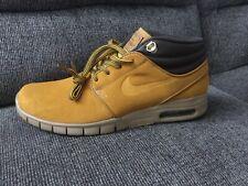 4a050035 Nike Stefan Janoski Max Mid PRM бронза резинки светло-коричневый AV3610 779  мужские размер 9.5