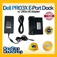 Dell PR03X E-Port Dock w/ 240W AC Adapter