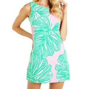 Lilly Pulitzer Donna Romper Mandevilla Baby Who Let The Fronds Out Womens 4 NWOT