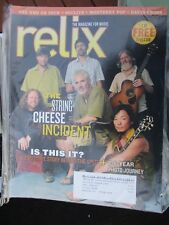 SCI STRING CHEESE INCIDENT THE WHO SOULIVE  2007 GRATEFUL DEAD RELIX MAGAZINE CD